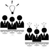 Idea del gruppo royalty illustrazione gratis