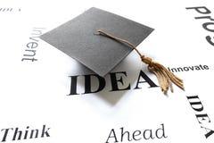 Idea del laureato Immagine Stock
