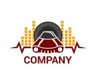 Idea 2 del logotipo del coche Imágenes de archivo libres de regalías