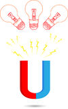 Idea del magnete Immagini Stock Libere da Diritti
