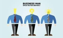 Idea dell'uomo di affari Fotografie Stock