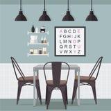 Idea della sala da pranzo Immagine Stock Libera da Diritti