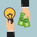 Idea design Stock Images