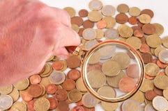 Idea di concetto dei soldi di affari Fotografie Stock Libere da Diritti
