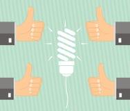 Idea di concetto - la gestione approva l'idea Immagini Stock Libere da Diritti