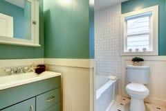 Idea di progettazione del bagno. Fotografia Stock Libera da Diritti