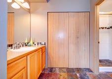 Idea di progettazione del bagno Fotografia Stock Libera da Diritti