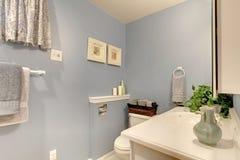Idea di progettazione semplice per il bagno Fotografia Stock Libera da Diritti