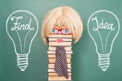 Idea divertente di istruzione Fotografia Stock