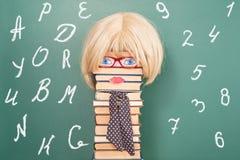 Idea divertida de la educación stock de ilustración