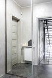Idea duplicada pasillo del guardarropa Foto de archivo libre de regalías