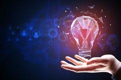 Idea e concetto dell'innovazione Fotografie Stock