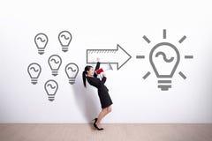 Idea e concetto dell'innovazione Immagini Stock Libere da Diritti