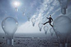 Idea e concetto dell'innovazione Fotografie Stock Libere da Diritti