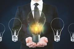 Idea e concetto di affari Immagine Stock