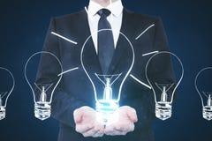 Idea e concetto di finanza Immagine Stock Libera da Diritti