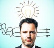 Idea e concetto di scelta di direzione immagine stock libera da diritti