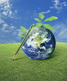 Idea for earth, Elements of this image furnished by NASA stock image