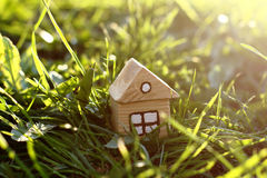 Idea of ecological house Stock Photography