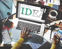 Idea Editing Program Application Interface Concept Royalty Free Stock Images