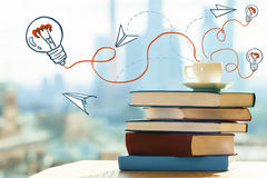 Idea and education concept Stock Photos