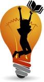 Idea education logo Stock Photography