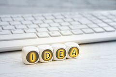Idea is everything Stock Photography
