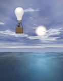 Idea Flight Stock Photo