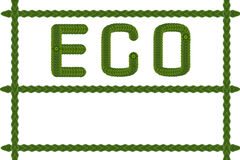 Idea form leaf create. (Ecology icon set Royalty Free Stock Photography