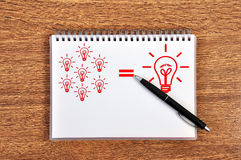 Idea formula Stock Photo