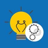 Idea gear programming document design Stock Images