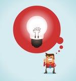 Idea grande libre illustration