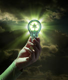 Idea green energy - recycle concept Royalty Free Stock Photo