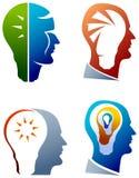 Idea head Stock Photo