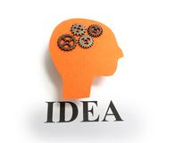 Idea head Royalty Free Stock Photos