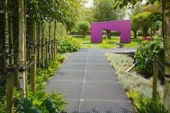 Idea hermosa del jardín Imagen de archivo libre de regalías