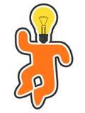 Idea icon. Creative design of idea icon Royalty Free Stock Images