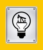 Idea icon Royalty Free Stock Photo