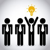 Idea icon Stock Photo
