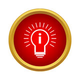 Idea Icon, simple style Stock Photos