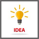 Idea icon Royalty Free Stock Images