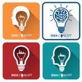 Idea icons Stock Photo
