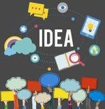 Idea Ideas Imagination Inspiration Objective Goals Concept Stock Photo