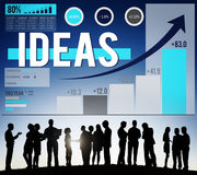 Idea Ideas Inspiration Motivation Strategy Imagination Concept Royalty Free Stock Image