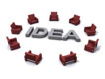 Idea illustration Stock Photography