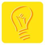 Idea. A vector illustration of idea icon Stock Image