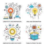 Idea and Imagination Stock Image
