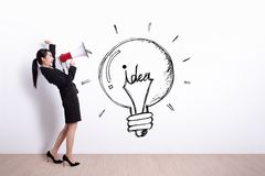 Idea and innovation concept Stock Photography