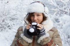 Idea inspirada por el invierno Imagen de archivo libre de regalías