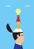 Idea Launch Royalty Free Stock Photo